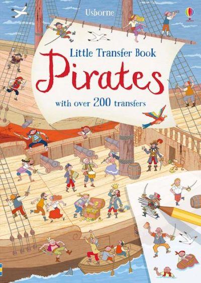 Usborne-Little Transfer Book Pirates