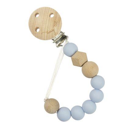 Precious Toy-Tiny Tot Suttekæde Nordic Love Pastel Blå