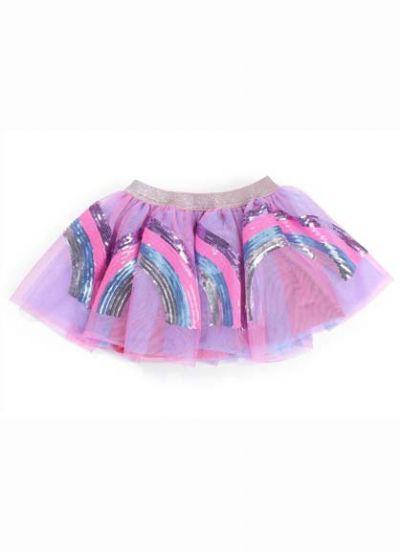 Rainbow Dressup Pink Sequins