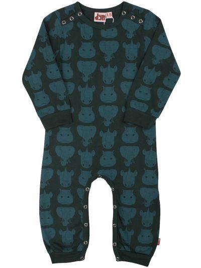 Tweet Suit BlackGreen/GreyBlue TYKHUDER