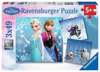 Ravensburger Puzzle 3x49 Brk Winter Adventures