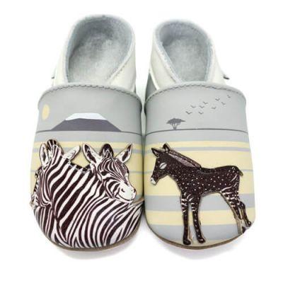 Lait et Miel Hjemmesko Zebra